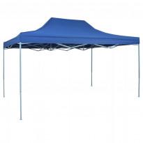 Juhlateltta Pop-up kokoontaitettava, 3x4.5m, sininen