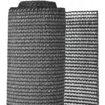 Puutarhan suoja-aita, PE, 1.5x5m, antrasiitti