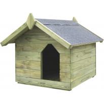 Koirankoppi avattavalla katolla, 615x740x785mm