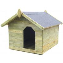 Koirankoppi avattavalla katolla,72x85x103.5cm