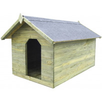 Koirankoppi avattavalla katolla, 940x1045x1535mm
