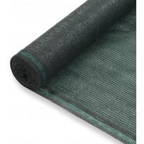 Tenniskentän suojaverkko, HDPE, 1.4x100m, vihreä