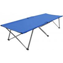 Retkisänky 206x75x45cm, XXL, sininen