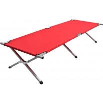 Retkisänky 210x80x48cm, XXL, punainen