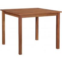 Puutarhapöytä, 85x85x74 cm, akaasiapuu, Verkkokaupan poistotuote