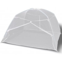 Hyönteisverkko 2-ovinen, 200x120x130cm, valkoinen