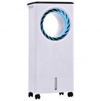Siirrettävä ilmanjäähdytin, -kostutin, -puhdistaja, 80 W, 20 x 30 x 66 cm, Verkkokaupan poistotuote