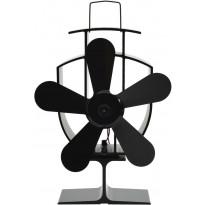 Lämmöllä toimiva hellatuuletin, 5 lapaa, 220x155x90cm