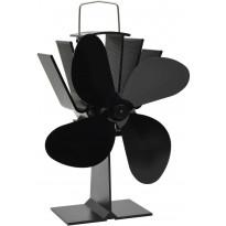 Lämmöllä toimiva hellatuuletin, 4 lapaa, 220x210x90cm