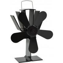 Lämmöllä toimiva hellatuuletin, 5 lapaa, 220x210x90cm