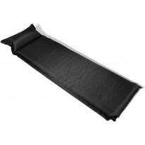 Makuualusta 10x66x200cm, ilmatäytteinen, musta
