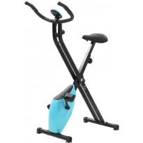 Kuntopyörä, 2.5kg, kokoontaitettava, musta/sininen