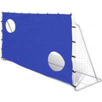 Jalkapallomaali tarkkuusseinällä, 240x92x150cm
