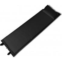 Makuualusta, itsestään täyttyvä, 185x55x3cm, musta
