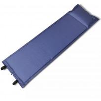 Makuualusta, itsestään täyttyvä, 185x55x3cm, sininen