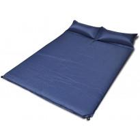Tuplamakuualusta, itsestään täyttyvä, 190x130x5cm, sininen