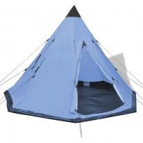 Teltta, 4 hengelle, 250cm, sininen