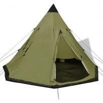 Teltta, 4 hengelle, 250cm, vihreä