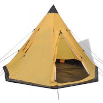 Teltta, 4 hengelle, 250cm, keltainen