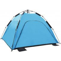 Pop-up rantateltta, 220x220x160cm, sininen
