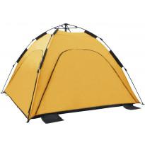 Pop-up rantateltta, 220x220x160cm, keltainen