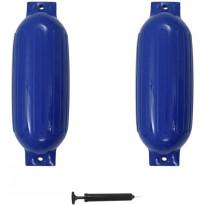 Veneen lepuuttaja, 2 kpl, sininen, 69x21,5 cm, PVC