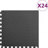Palamatot 24kpl, 8.64 m², EVA-vaahto, musta