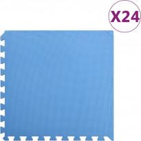 Palamatot 24kpl, 8.64 m², EVA-vaahto, sininen