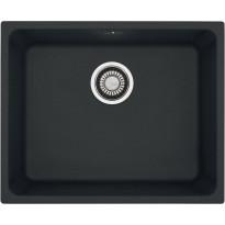 Keittiöallas Franke Kubus KBG 210-50, 53 x 43 cm, Fragranite, musta