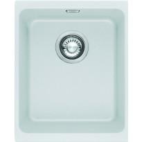 Keittiöallas Kubus KBG 110-34, 380x460mm, Fragranite, valkoinen