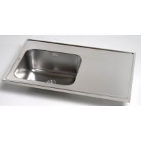 Kodinhoitoallas Inari 1000, 1000x600mm, vasen + taso, rst