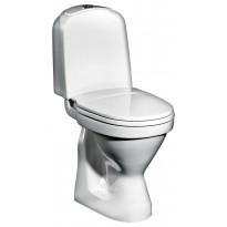 WC-istuin Gustavsberg Nordic 2350 P-Piilolukko 3/6 L valkoinen