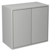 Seinäkaappi Gustavsberg Graphic, 600x550x320mm, harmaa