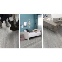 Vinyylilankku Gerflor Virtuo 55 Clic, Monea Grey 0763