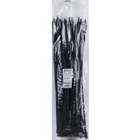 Nippuside Gelia 540x7.8mm, UV-suojattu, musta, 100kpl