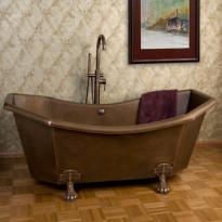 Kylpyamme GemLook 13075,  183 x 83 x 78cm, 270 l, kupari