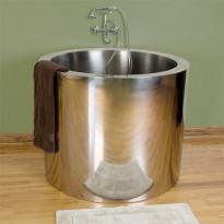 Japanilainen kylpyamme GemLook 271350, 225 l, 109 x 86cm, teräs