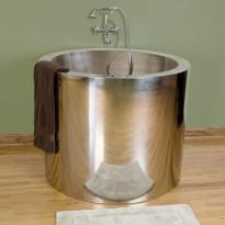 Japanilainen kylpyamme GemLook 282266, 225 l, 110 x 86cm, teräs