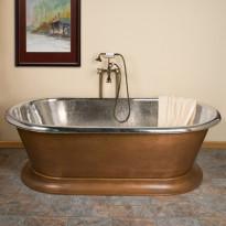 Kylpyamme GemLook 295437, 350 l, 192 x 102 x 61cm, kupari