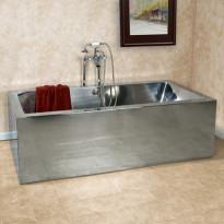 Kylpyamme GemLook 295701, 280 l, 182 x 81 x 55cm, teräs