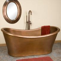 Kylpyamme GemLook,  167 x 81 x 68cm, kupari