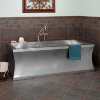 Kylpyamme GemLook 339991, 325 l, 182 x 82 x 61cm, teräs