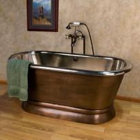 Kylpyamme GemLook 9278, 275 l, 183 x 81 x 64cm, kupari