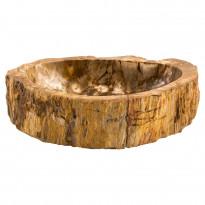 Pesuallas GemLook GL 185, kivettyneestä puusta, tasolle asennettava, ei hananreikää, 56 x 39 x 14 cm