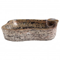 Pesuallas GemLook GL 227, marmori, tasolle asennettava, ei hananreikää, 520 x 340 x 110 mm