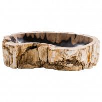 Pesuallas GemLook GL 297, kivettyneestä puusta, tasolle asennettava, ei hananreikää, 59 x 43 x 15 cm
