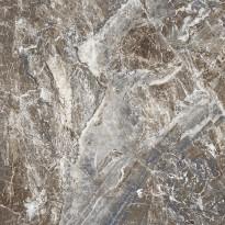 Lattialaatta GoldenTile Damascata, 59.5x59.5cm, ruskea