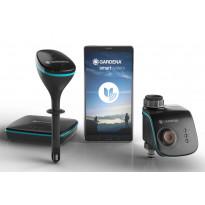 Aloitussarja GARDENA smart, sis. reititin, sensori ja kasteluajastin