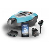 Älypuutarhajärjestelmä Gardena Smart System, Sileno R100LiC -robottiruohonleikkurilla
