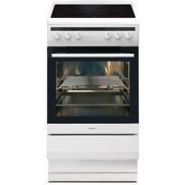 Lattialiesi Gram EK 4510-90 900x500x600 mm valkoinen keraamisella keittotasolla